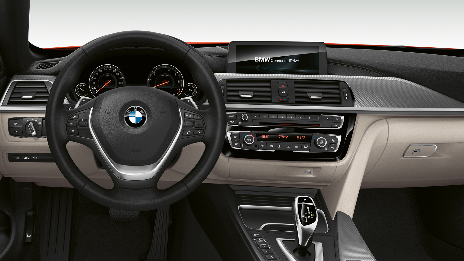 BMW 4 Series Convertible, Model Luxury Line cockpit
